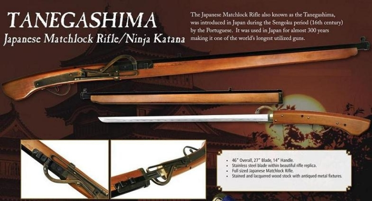 Tanegashima Blade