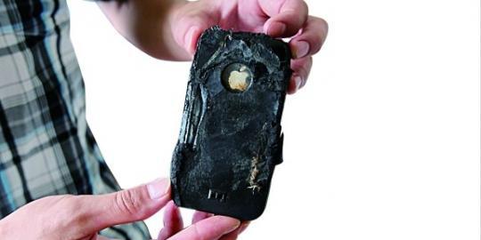 iPhone 4 - kesalahan baterai