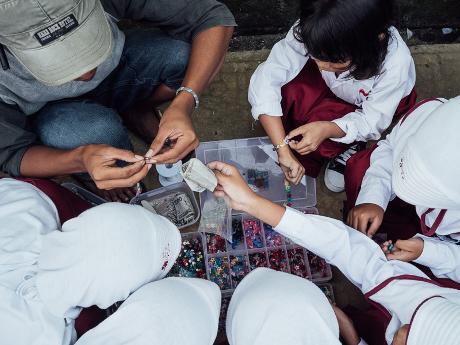 Sekolah di jalan Roda, Bogor